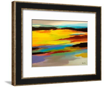 Abstract Landscape 3-Hans Paus-Framed Art Print