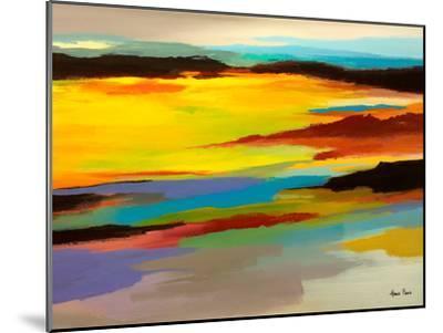 Abstract Landscape 3-Hans Paus-Mounted Art Print