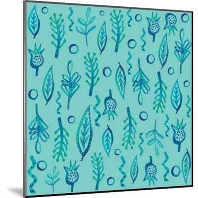 Blue Kelp 2-Kristine Lombardi-Mounted Art Print
