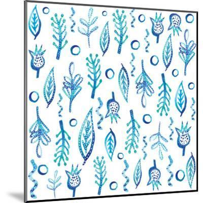 Blue Kelp-Kristine Lombardi-Mounted Art Print