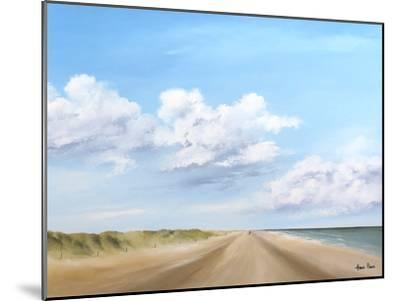 A Walk Along The Beach 3-Hans Paus-Mounted Art Print