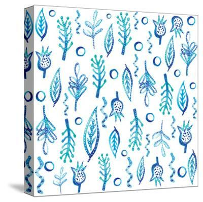 Blue Kelp-Kristine Lombardi-Stretched Canvas Print