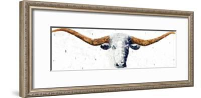 Longhorn-Marvin Pelkey-Framed Giclee Print