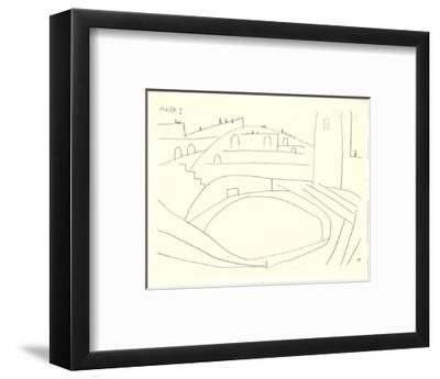Untitled-Pablo Picasso-Framed Lithograph