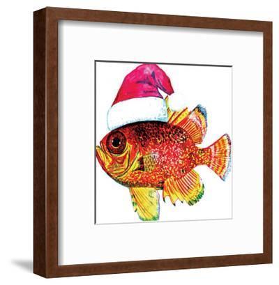 Santa Fish 2-T.J. Heiser-Framed Art Print