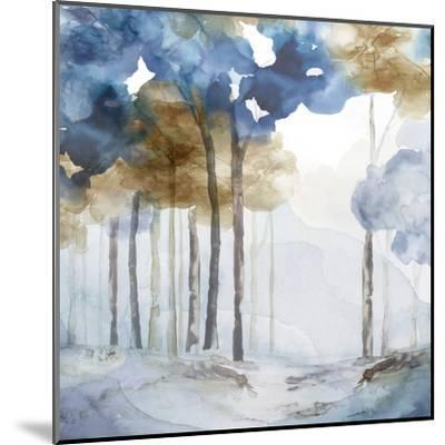 In the Blue Forest I-PI Creative Art-Mounted Art Print