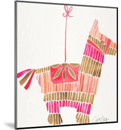 Piñata Pink Rose Gold-Cat Coquillette-Mounted Art Print