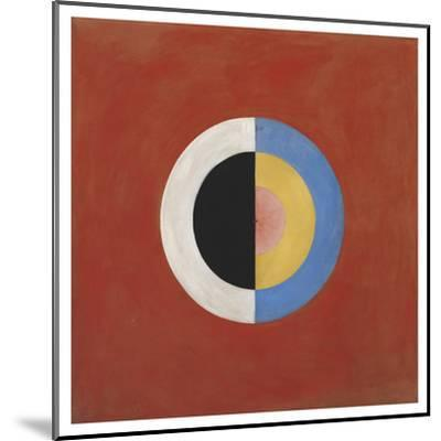The Swan, No.17, Group Ix/Suw, 1914-5-Hilma af Klint-Mounted Giclee Print