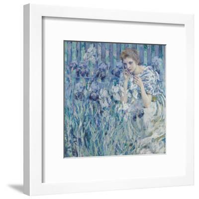 Fleur De Lis-Robert Lewis Reid-Framed Giclee Print