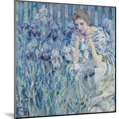 Fleur De Lis-Robert Lewis Reid-Mounted Giclee Print