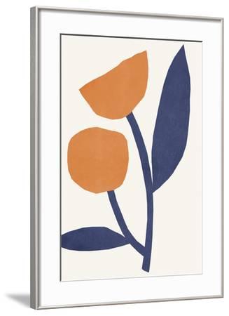 Appelsinugult Alltaf-Kristine Hegre-Framed Giclee Print