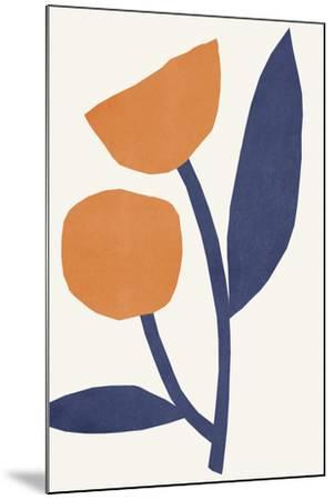 Appelsinugult Alltaf-Kristine Hegre-Mounted Giclee Print