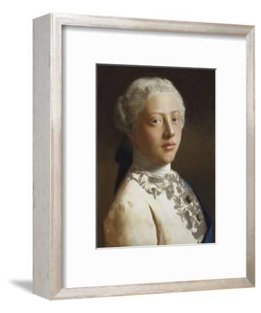 George, Prince of Wales, 1754-Jean Etienne Liotard-Framed Premium Giclee Print