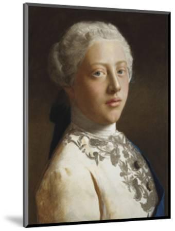George, Prince of Wales, 1754-Jean Etienne Liotard-Mounted Premium Giclee Print
