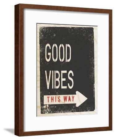 Timber Talk - Vibe-Tom Frazier-Framed Giclee Print