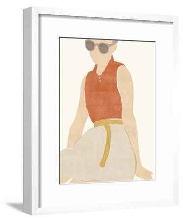 Capri Elite-Aurora Bell-Framed Giclee Print