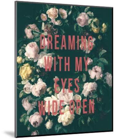 Garland Of Dreams-Henriette de Longchamp-Mounted Giclee Print