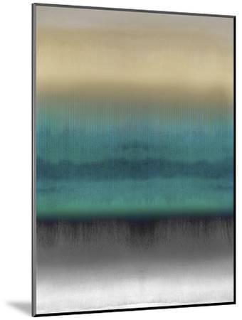 Mirrored Metal - Aqua-Chloe Larsen-Mounted Giclee Print