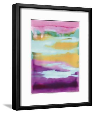 Sunny Side - Strips-Chloe Larsen-Framed Giclee Print