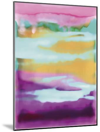 Sunny Side - Strips-Chloe Larsen-Mounted Giclee Print