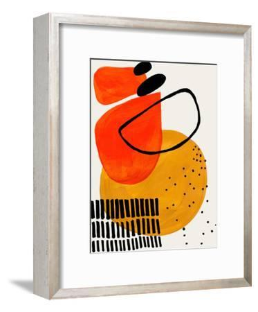 Sunset Orbit-Ejaaz Haniff-Framed Art Print