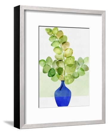 Fresh Eucalyptus-Modern Tropical-Framed Art Print