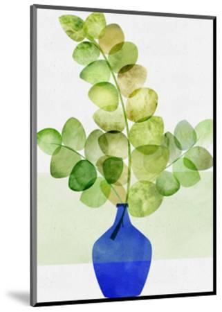 Fresh Eucalyptus-Modern Tropical-Mounted Art Print