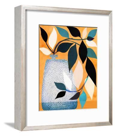 Ivy In The Courtyard-Modern Tropical-Framed Art Print