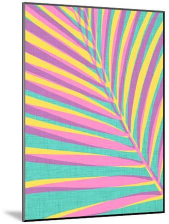 Bright Tropical Palm Leaf-Modern Tropical-Mounted Art Print