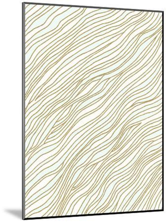 Currents-Modern Tropical-Mounted Art Print
