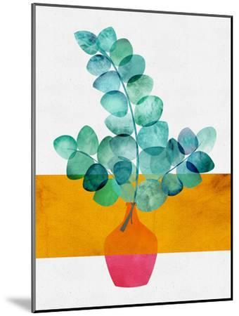 Eucalyptus And Sunshine-Modern Tropical-Mounted Art Print