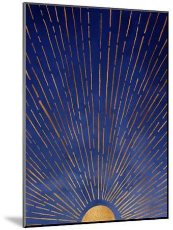 Twilight-Modern Tropical-Mounted Art Print