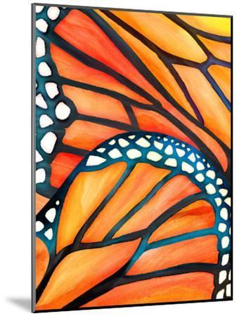 Monarch-Modern Tropical-Mounted Art Print