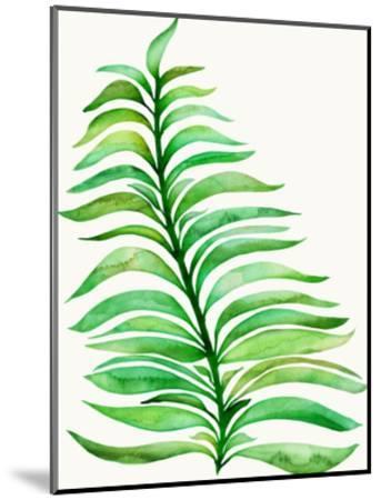 Royal Fern-Modern Tropical-Mounted Art Print