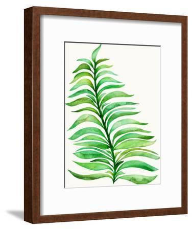 Royal Fern-Modern Tropical-Framed Art Print
