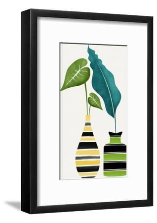 Tamed Tropicals-Modern Tropical-Framed Art Print