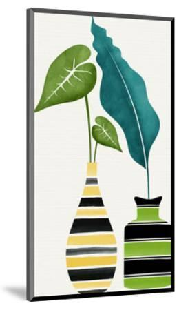 Tamed Tropicals-Modern Tropical-Mounted Art Print
