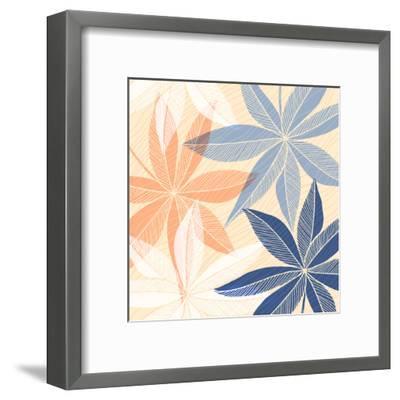 Modern Hawaiian Print Ii-Modern Tropical-Framed Art Print