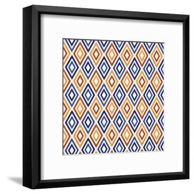 Mediterranean Mood-Modern Tropical-Framed Art Print
