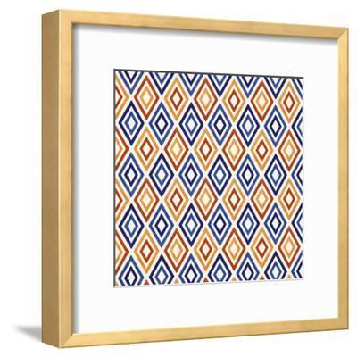 Mediterranean Mood-Modern Tropical-Framed Art Print