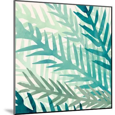 Jungle Flora-Modern Tropical-Mounted Art Print