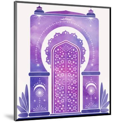 Moroccan Dreams-Modern Tropical-Mounted Art Print