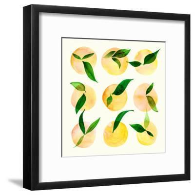 Wild Orchard Ii-Modern Tropical-Framed Art Print