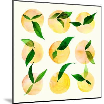 Wild Orchard Ii-Modern Tropical-Mounted Art Print
