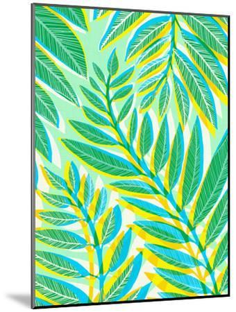 Jungle Vines-Modern Tropical-Mounted Art Print