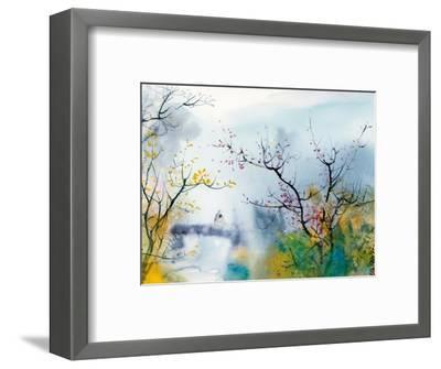 Lovers at Chi Tou-Chi Wen-Framed Premium Giclee Print