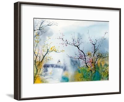 Lovers at Chi Tou-Chi Wen-Framed Giclee Print