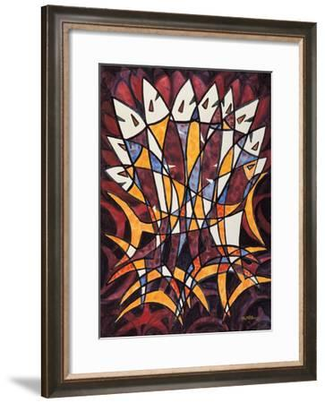 Over Lapped Fish-Chuankuei Hung-Framed Giclee Print