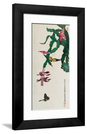 Holiday Cactus-Hsi-Tsun Chang-Framed Giclee Print