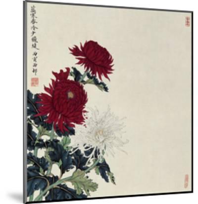 Winter Flowers-Hsi-Tsun Chang-Mounted Giclee Print